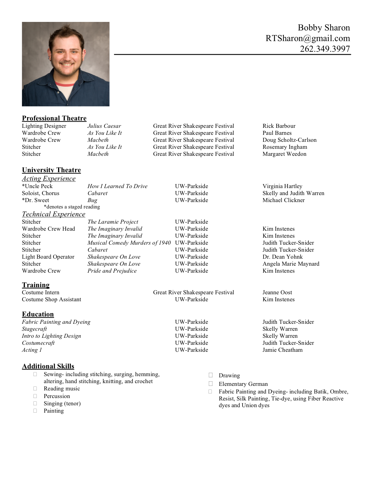 for a resume type font matters skills focused resume cv great
