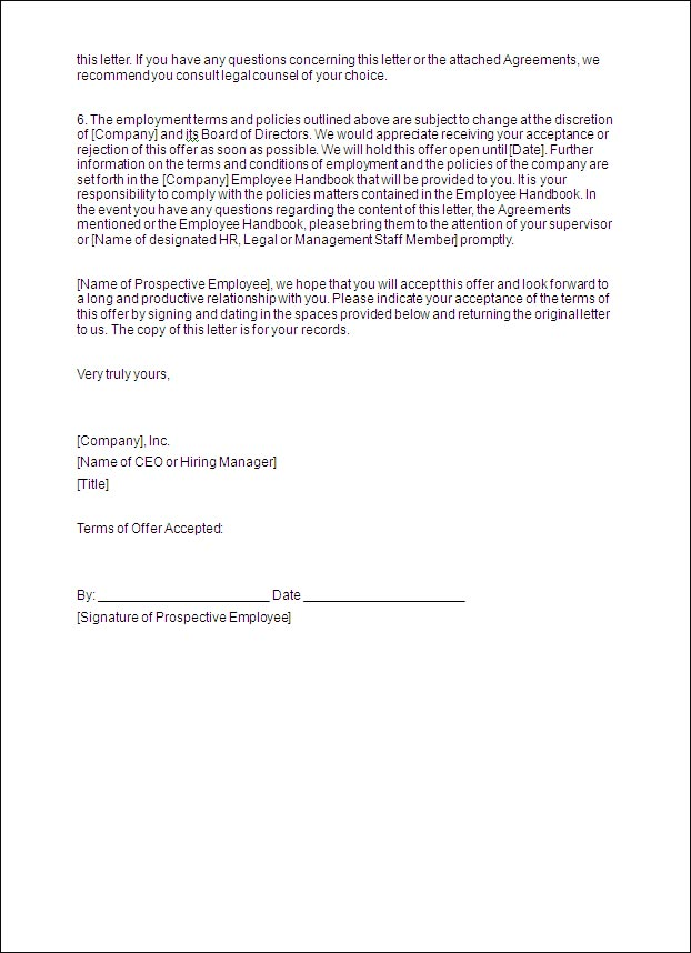 Writing a Job Offer Letter: Tips & Template