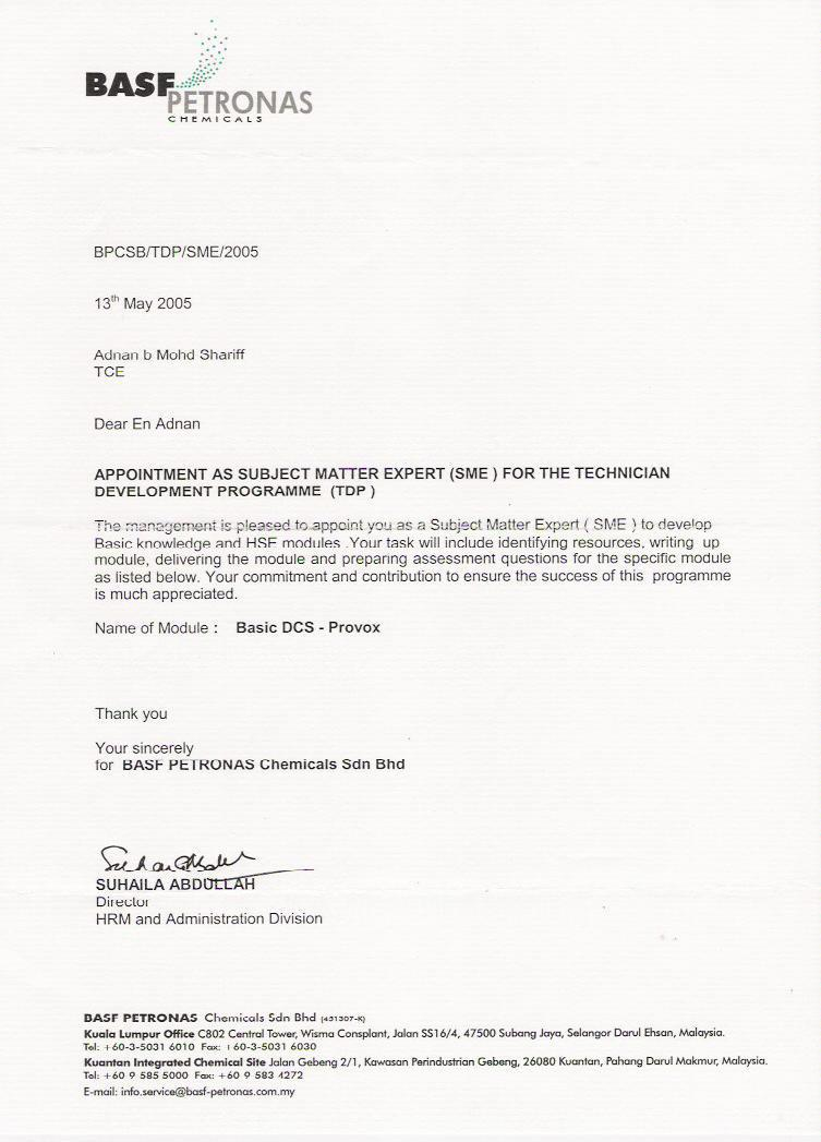 sample appointment letter Writing Appointment Letter   Tips & Template