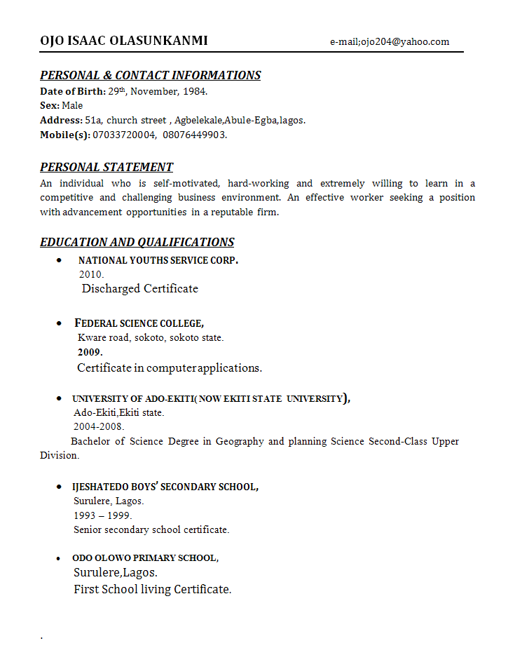 administrative officer resume 01 Administrative Officer Resume Review