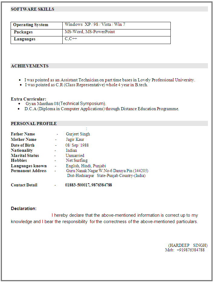 Electrical Design Engineer Resume Sample