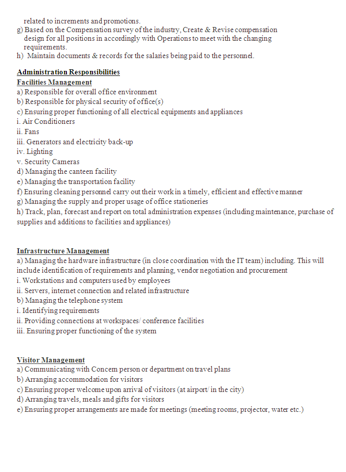 Human Resource Management Cv 03